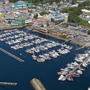 Ketchikan Harbormaster square