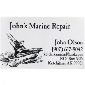 John's Marine Repair logo square