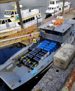 Remote fuel deliveries by boat